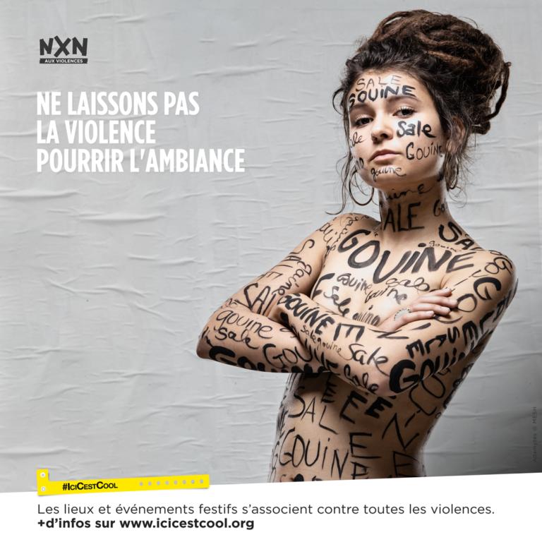 #ICICESTCOOL formation sur la prévention des violences en milieux festifs