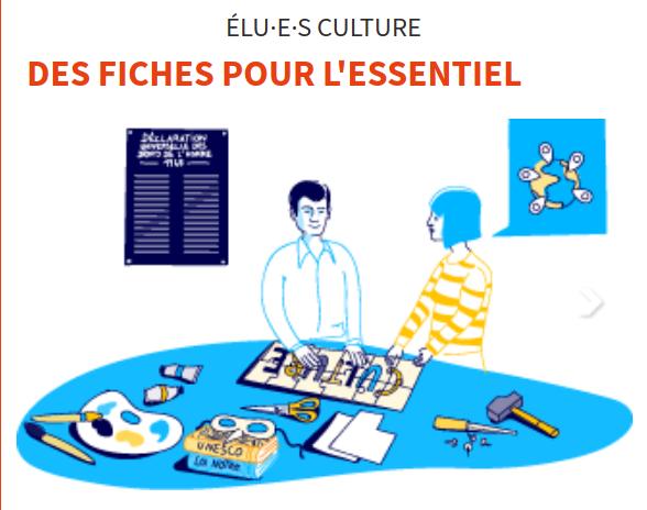 [RESSOURCE] 6 fiches pratiques pour les élu⋅e⋅s culture