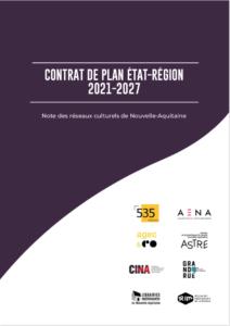 note réseaux culturels contrat plan etat région 2021 2027